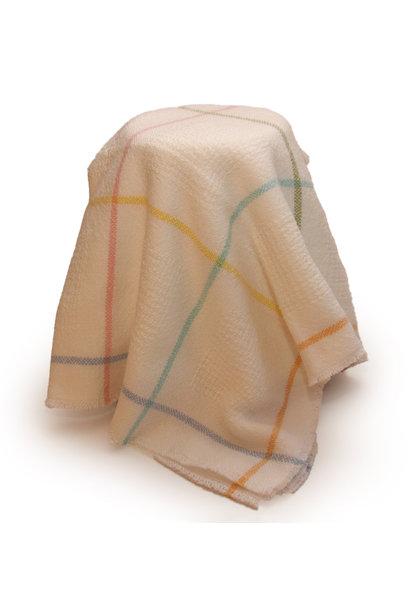 Grid Block Baby Blankets