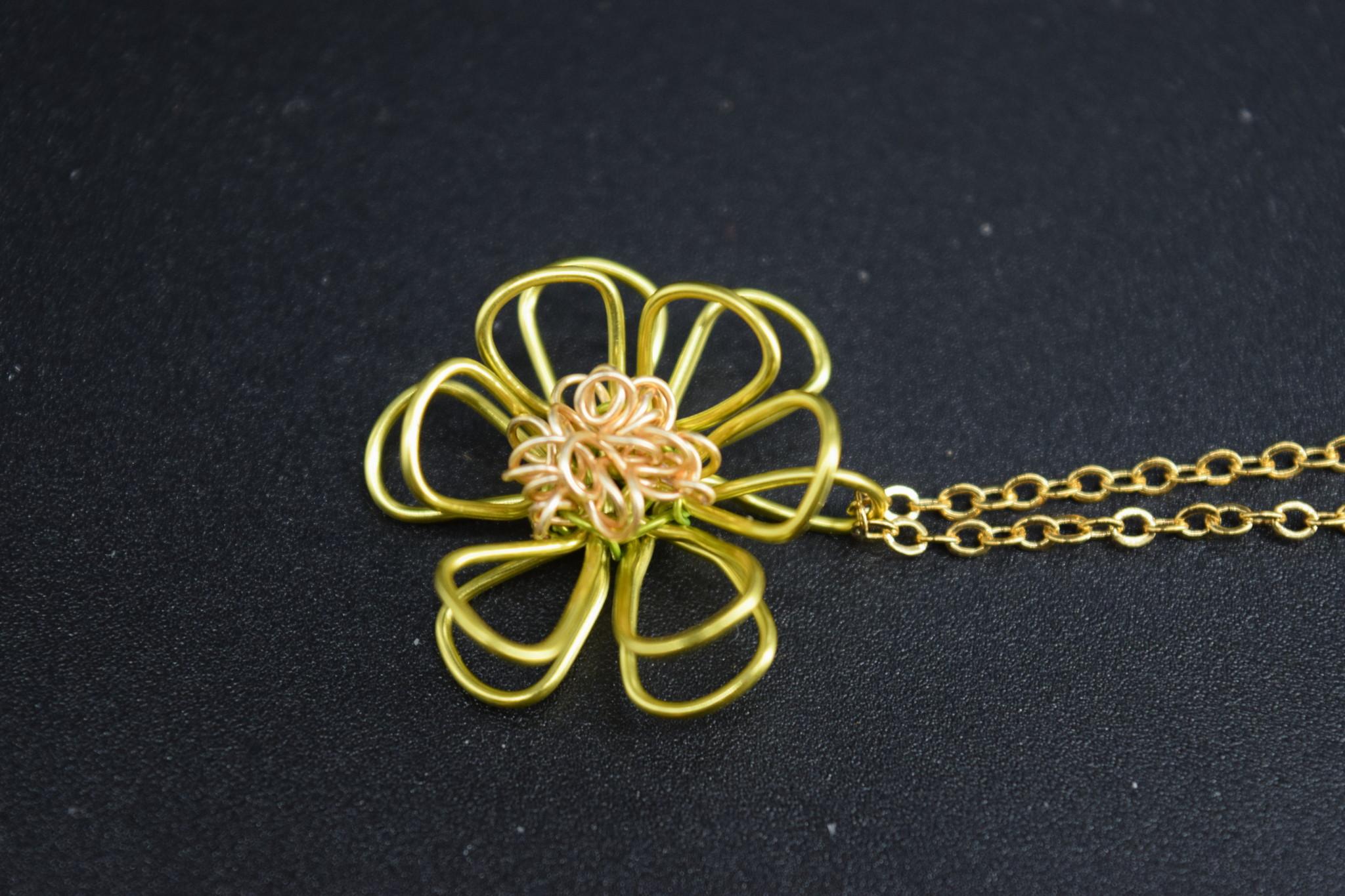 Mini Blossom Pendant-3