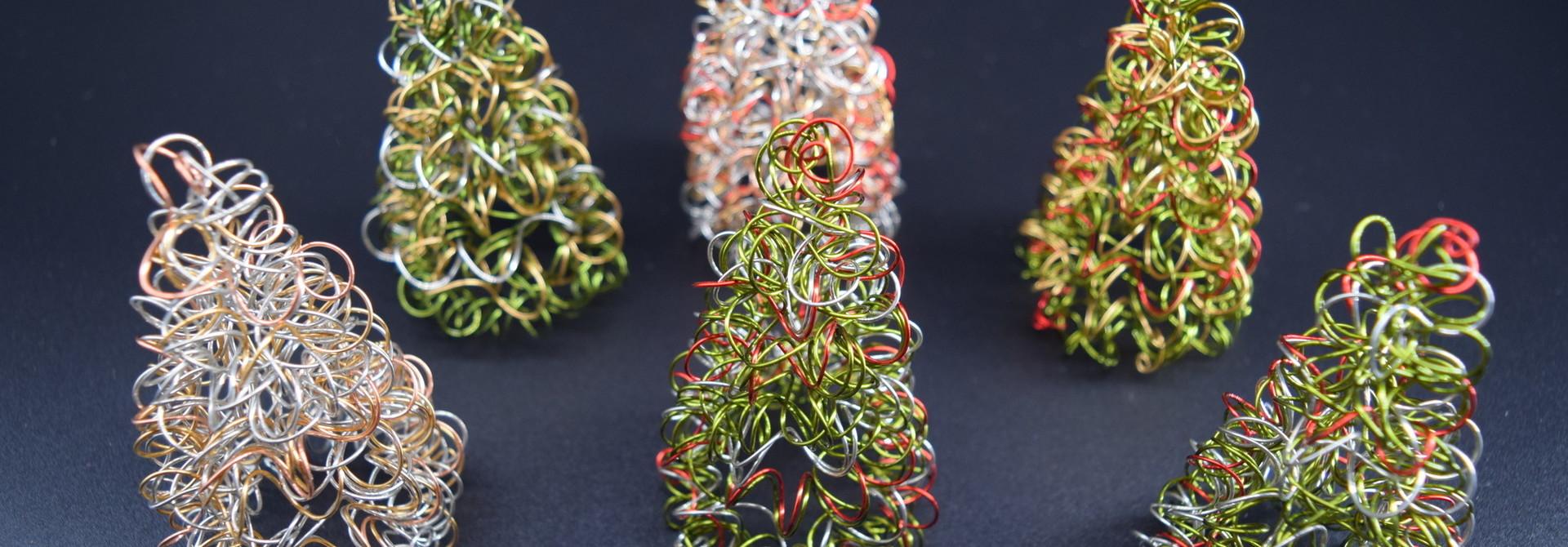 Springy Wire Tree