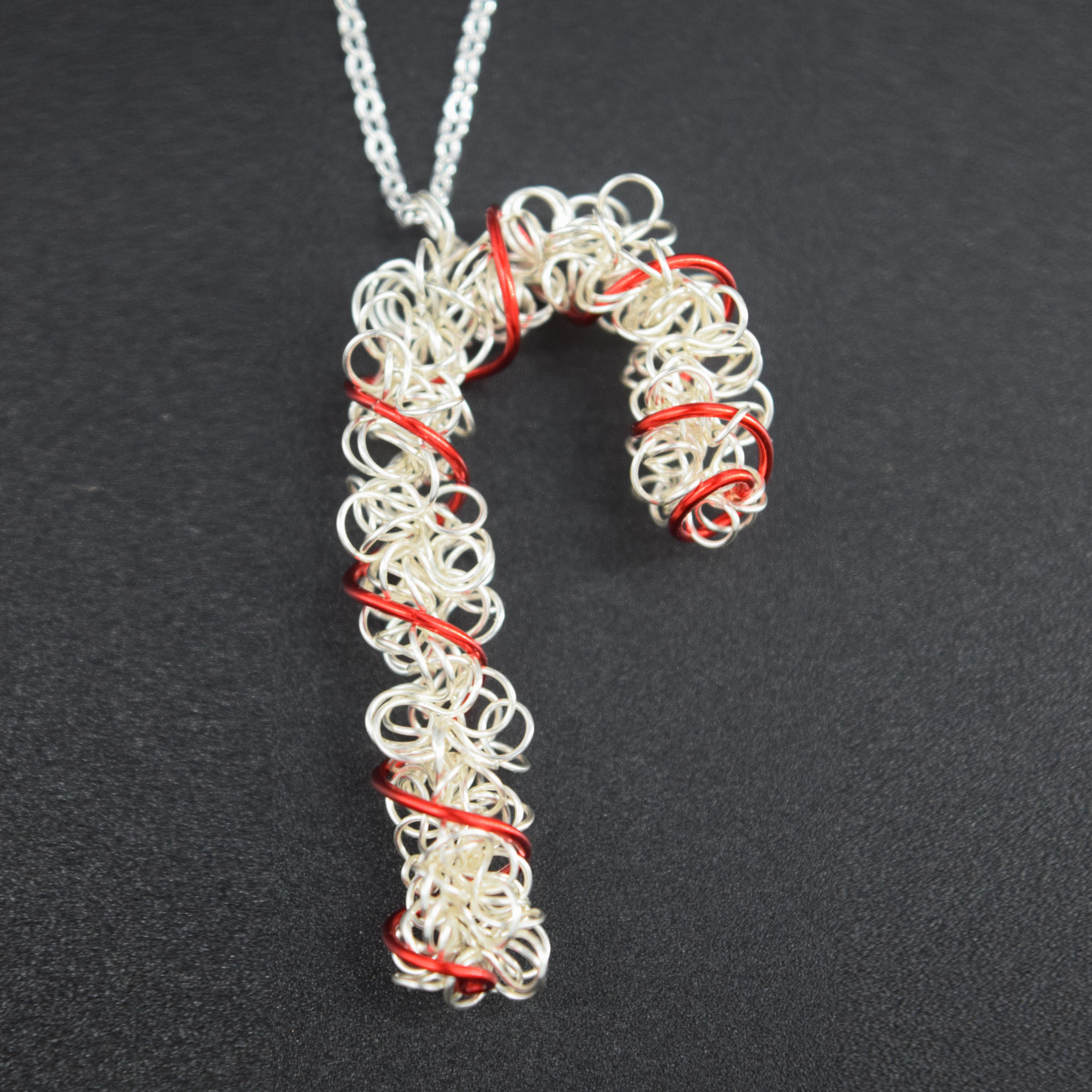 Candy Cane Necklace-1