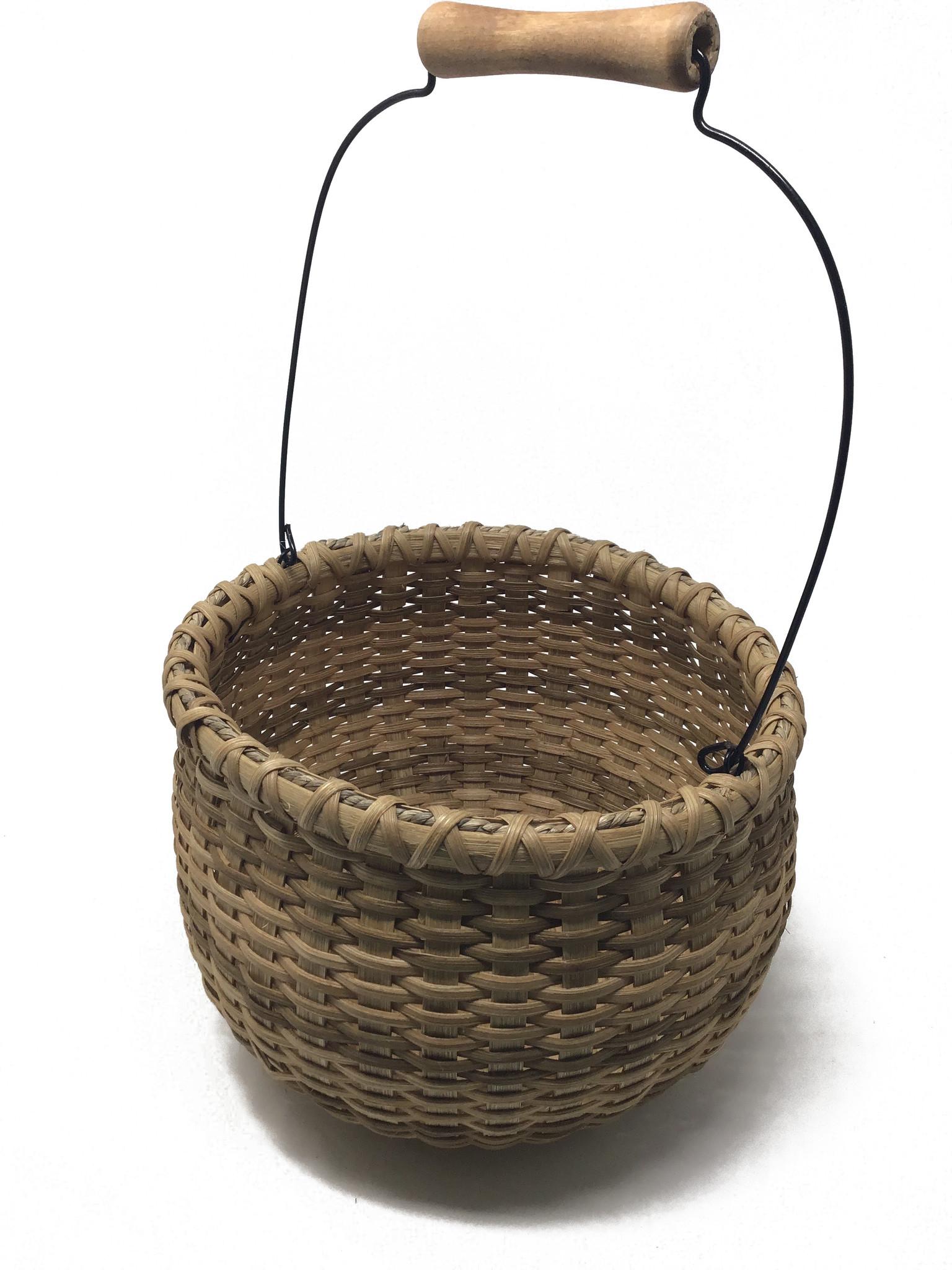 Large Wood Bottom Beanpot-1