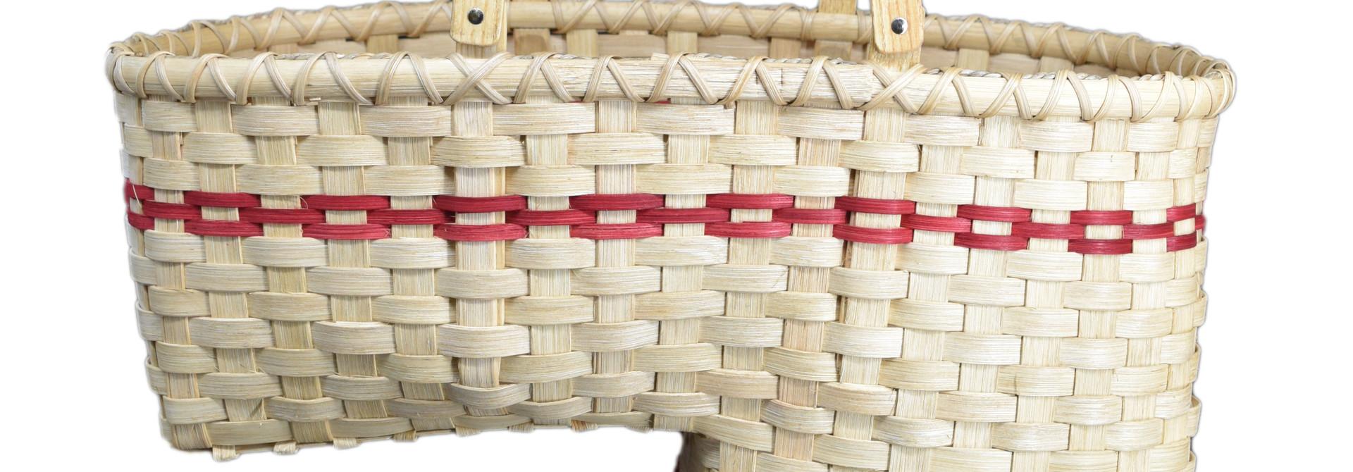 Large Stair Step Basket