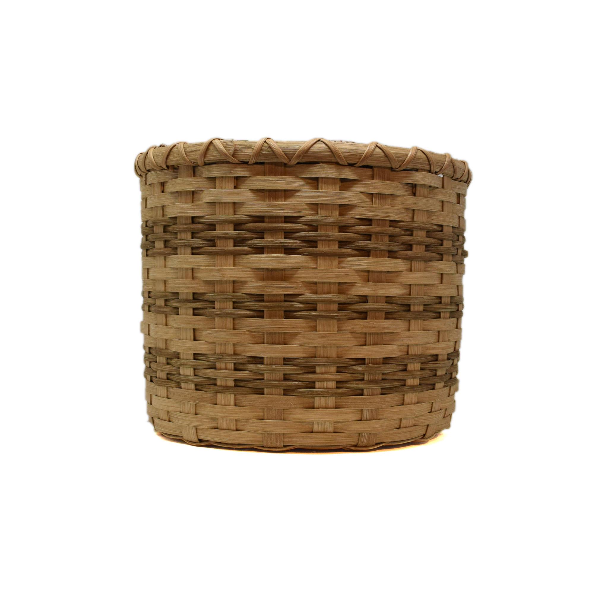 Lined Trash Basket-2
