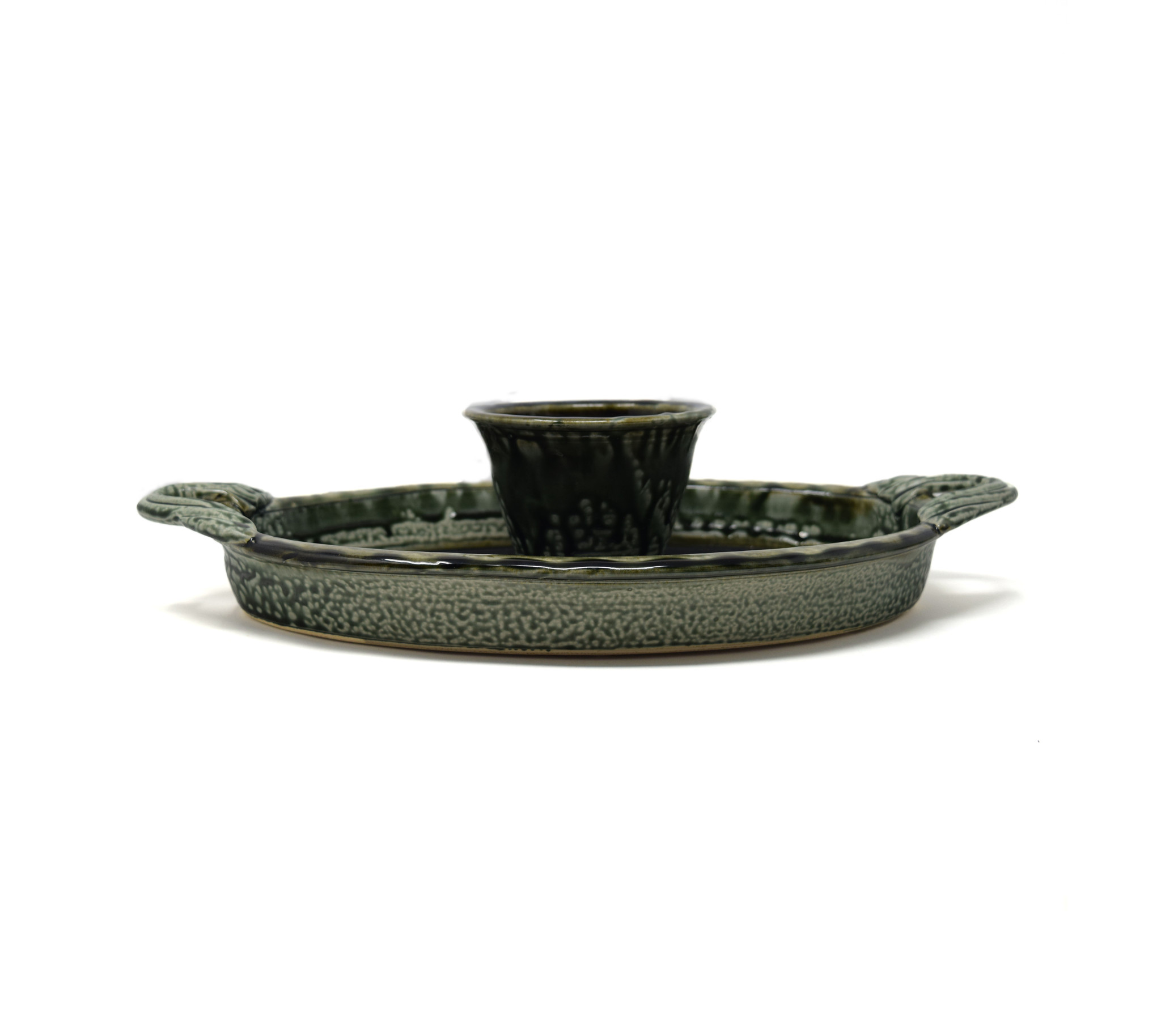 Oval Chip and Dip Dish-2