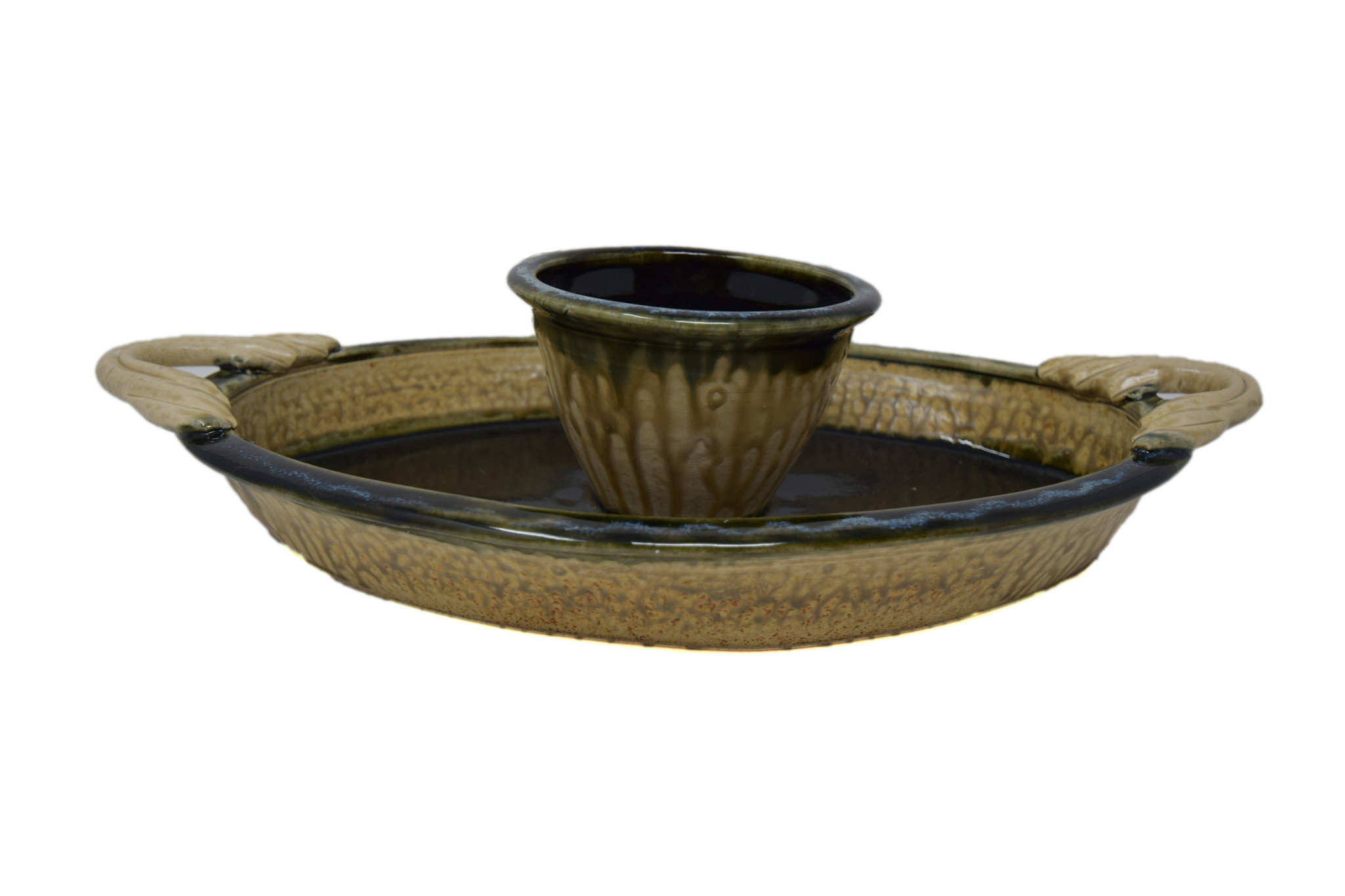 Oval Chip and Dip Dish-5