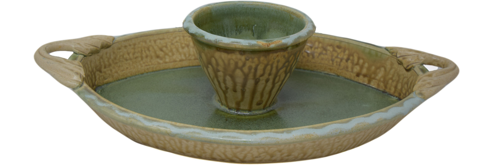 Oval Chip and Dip Dish