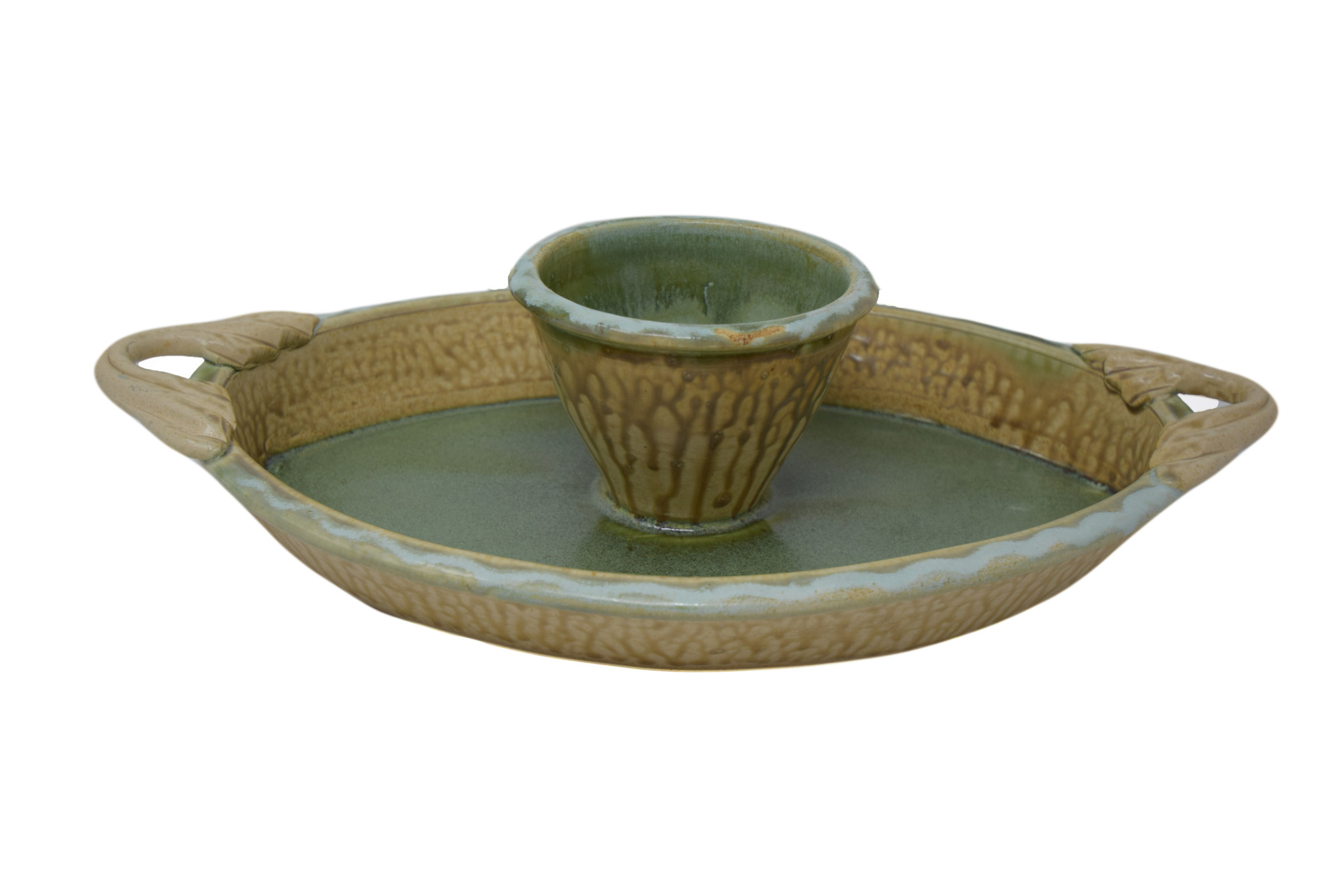 Oval Chip and Dip Dish-1