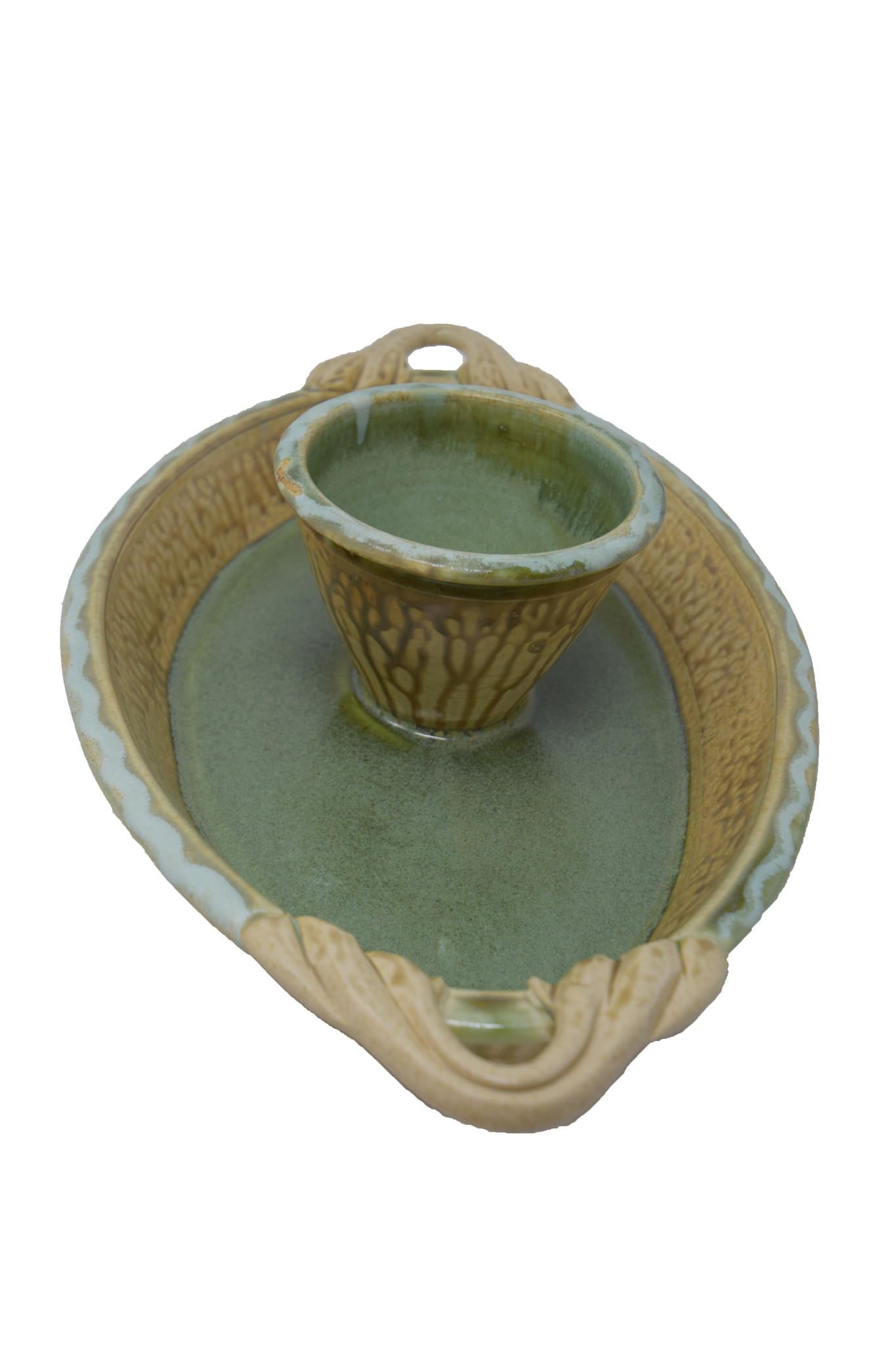 Oval Chip and Dip Dish-8