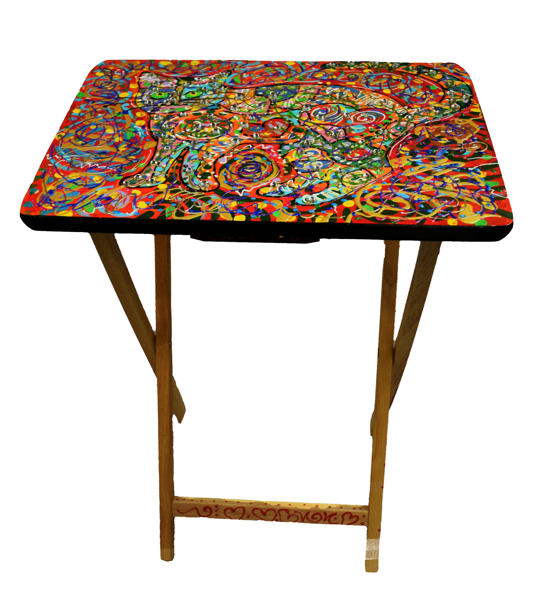 Side Folding Table-5