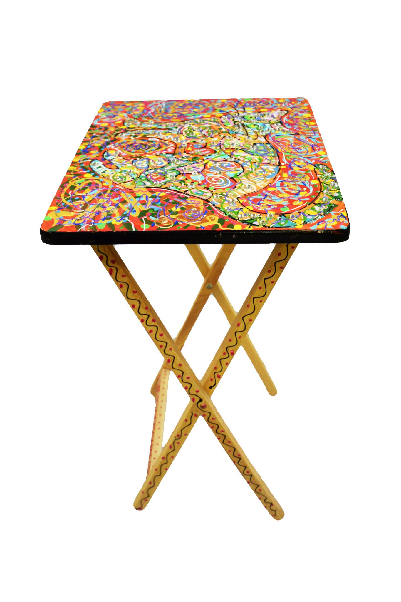 Side Folding Table-6