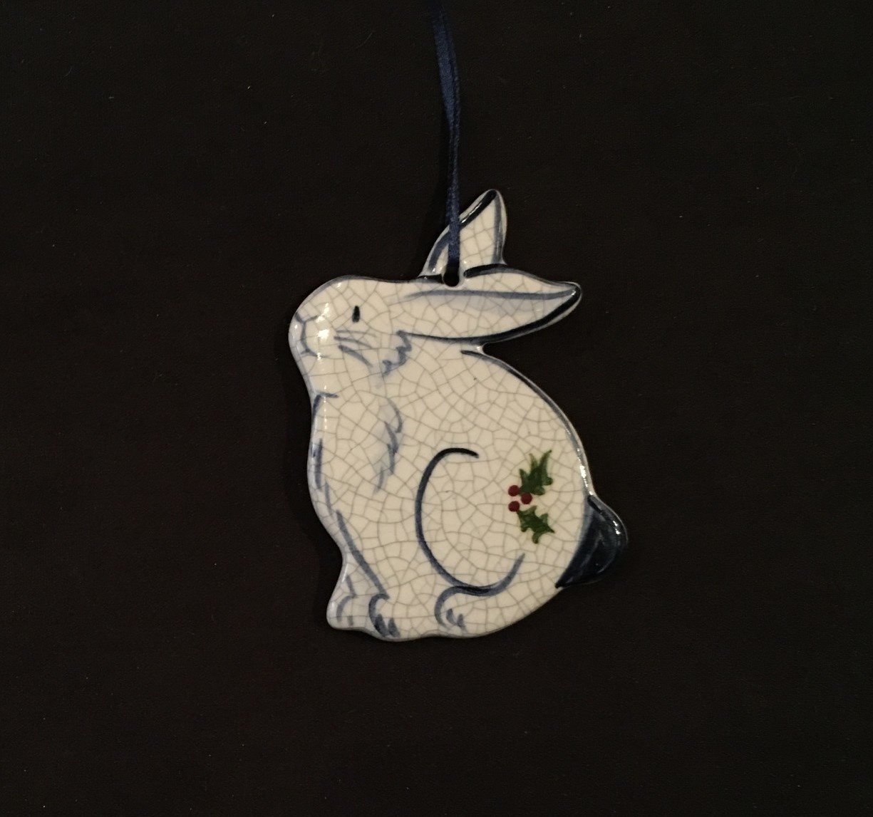 RABBIT WITH HOLLY-1