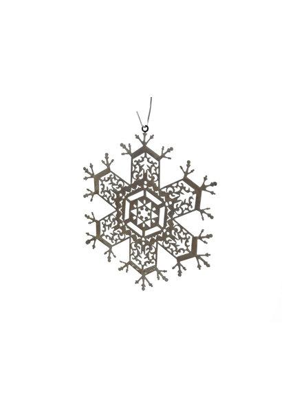 Snowflake Pierced