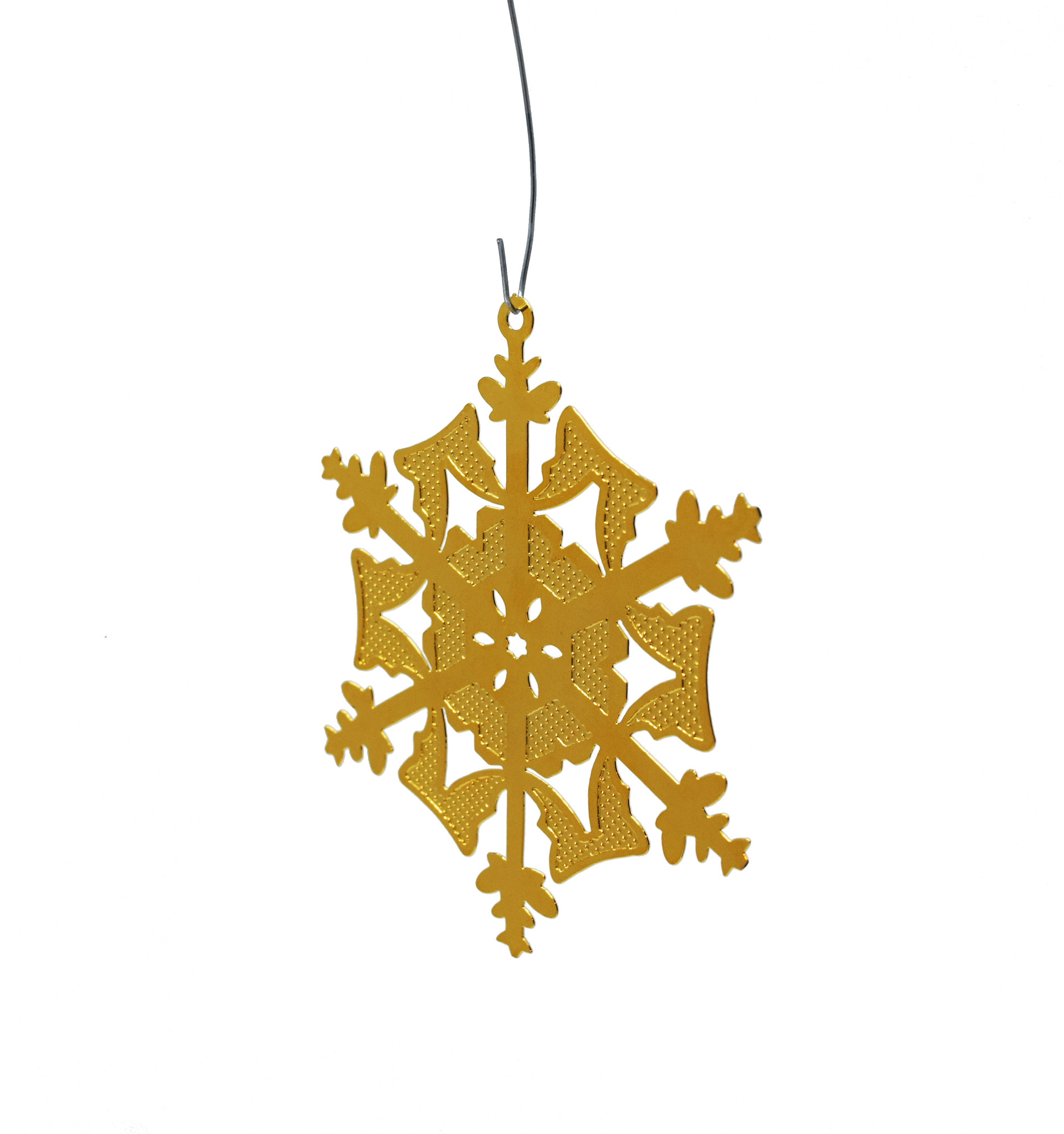 Textured snowflake-1