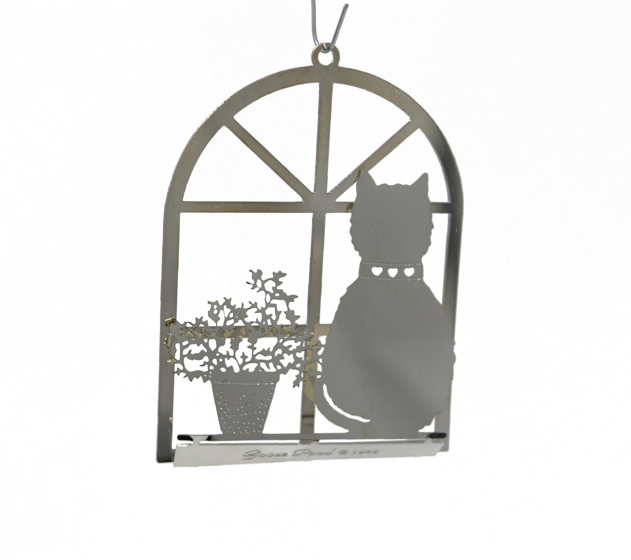 Cat in Window-3