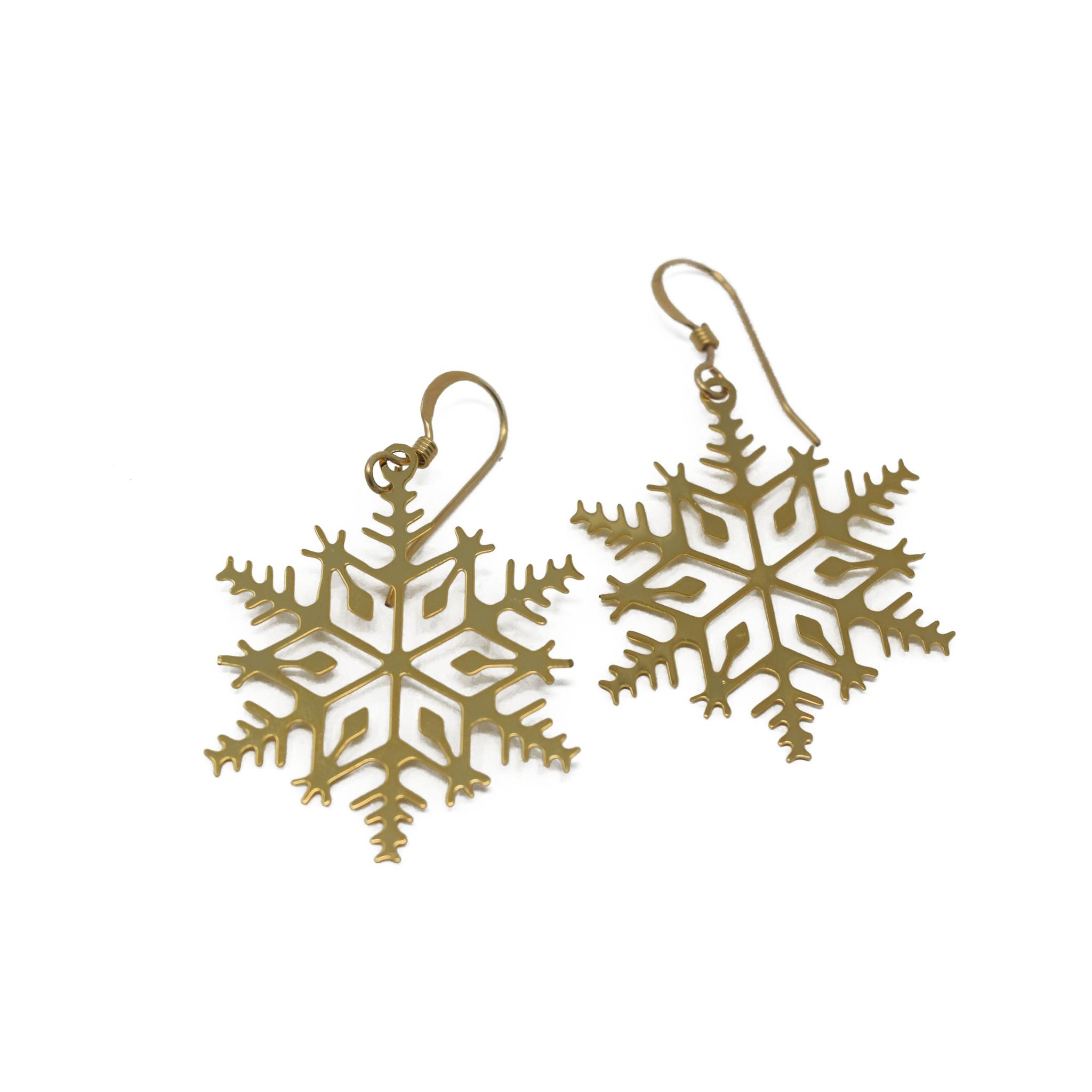 Snowflake Earring-1