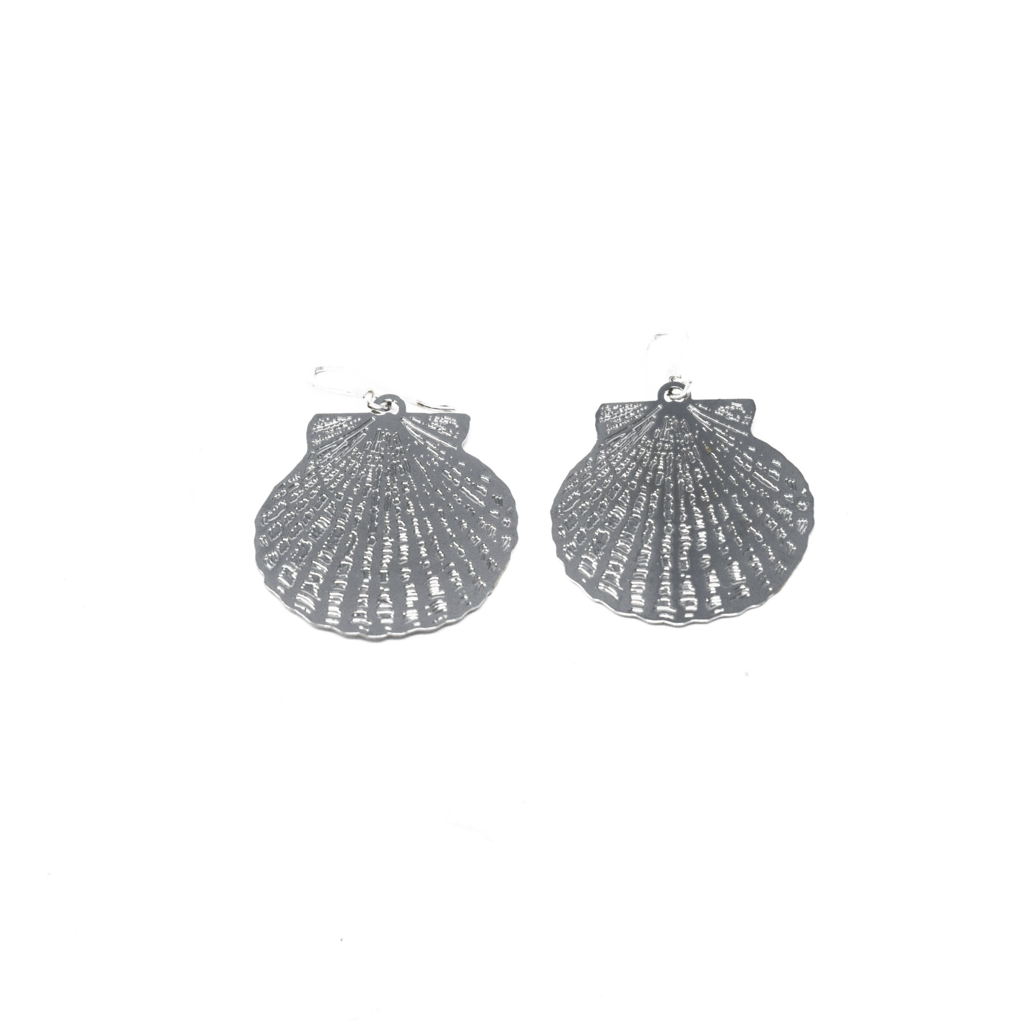 Scalloped Shell Earring-2