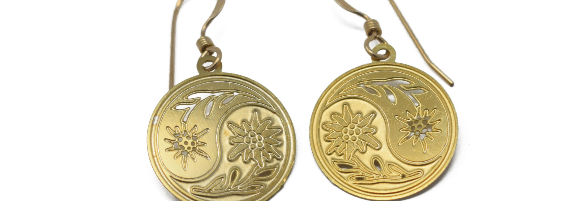 Floral Reflection Earrings