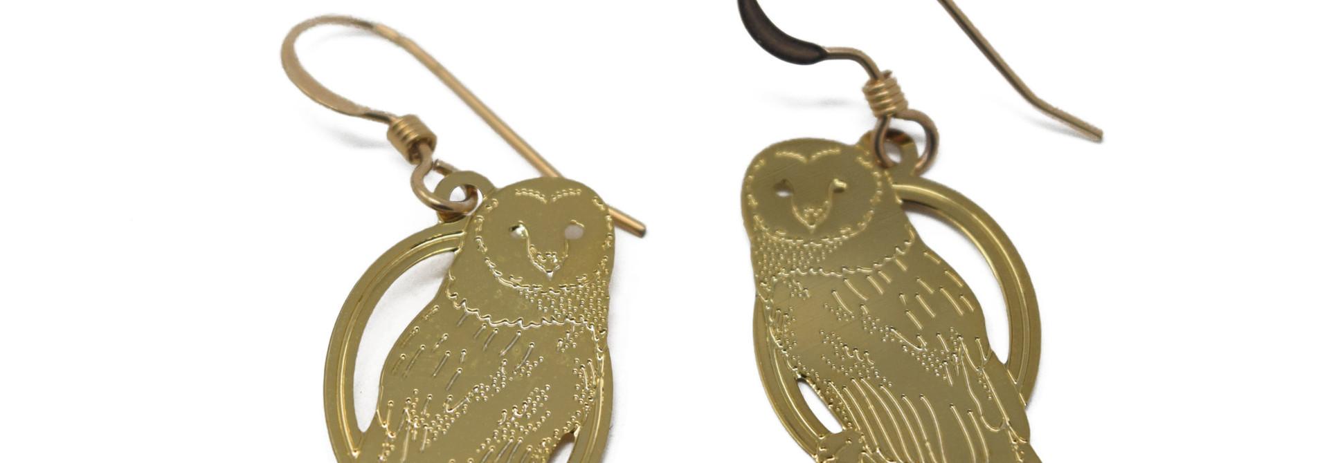 Hoot Owl Earring