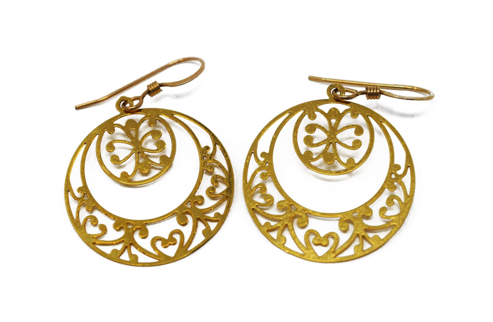 Double Circle Earring-1