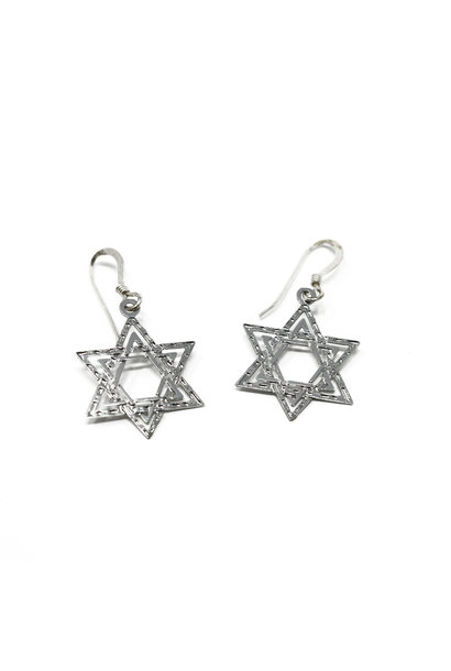 Star of David Earring