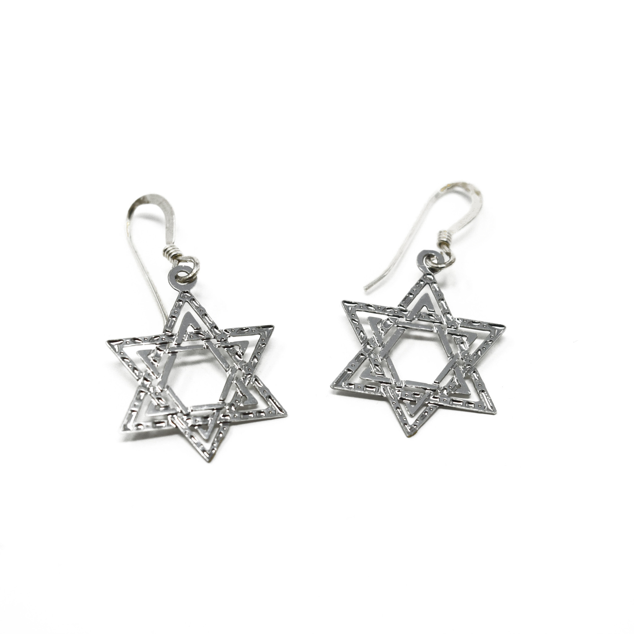 Star of David Earring-2
