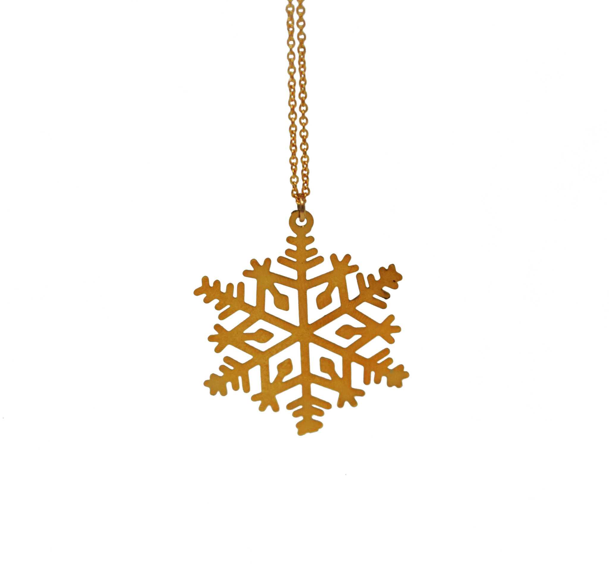 Snowflake Necklace-1