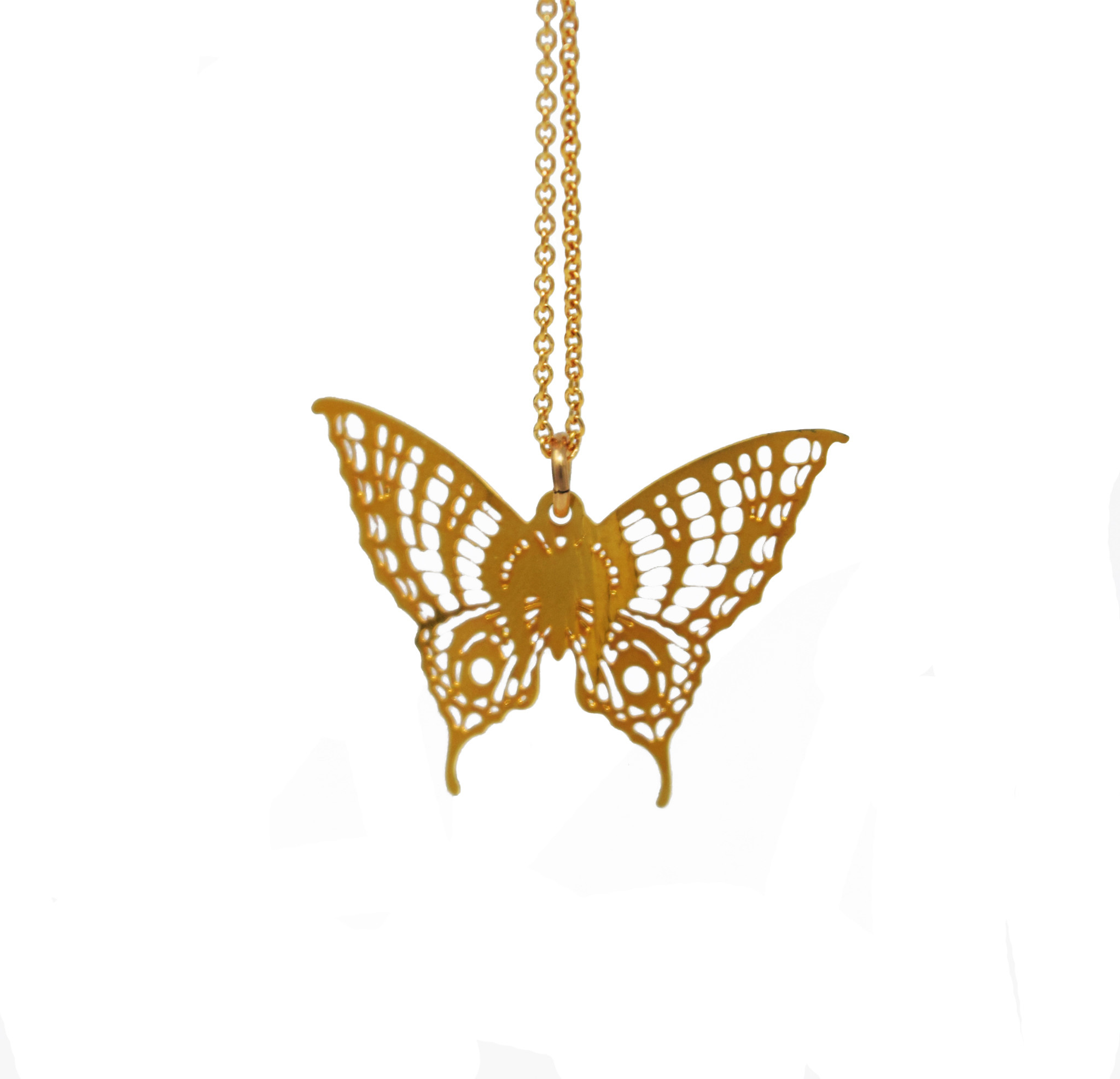 Butterfly Necklace-1