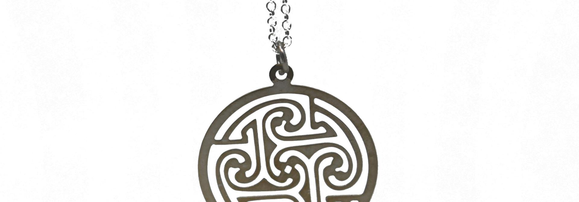 Celtic Circle Necklace