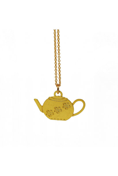 Tea for Two Necklace