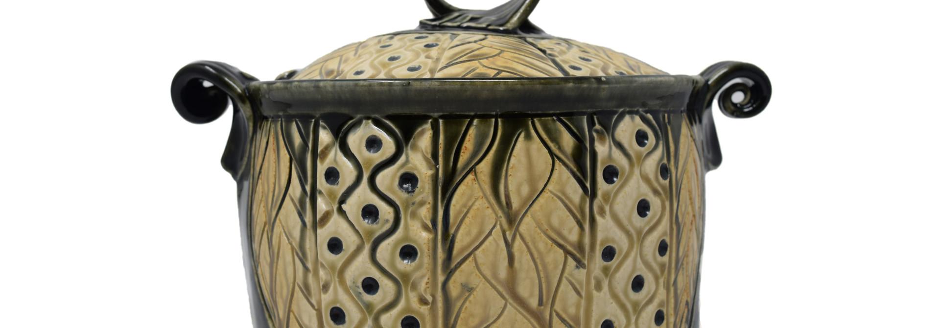 Casserole Carved Oval