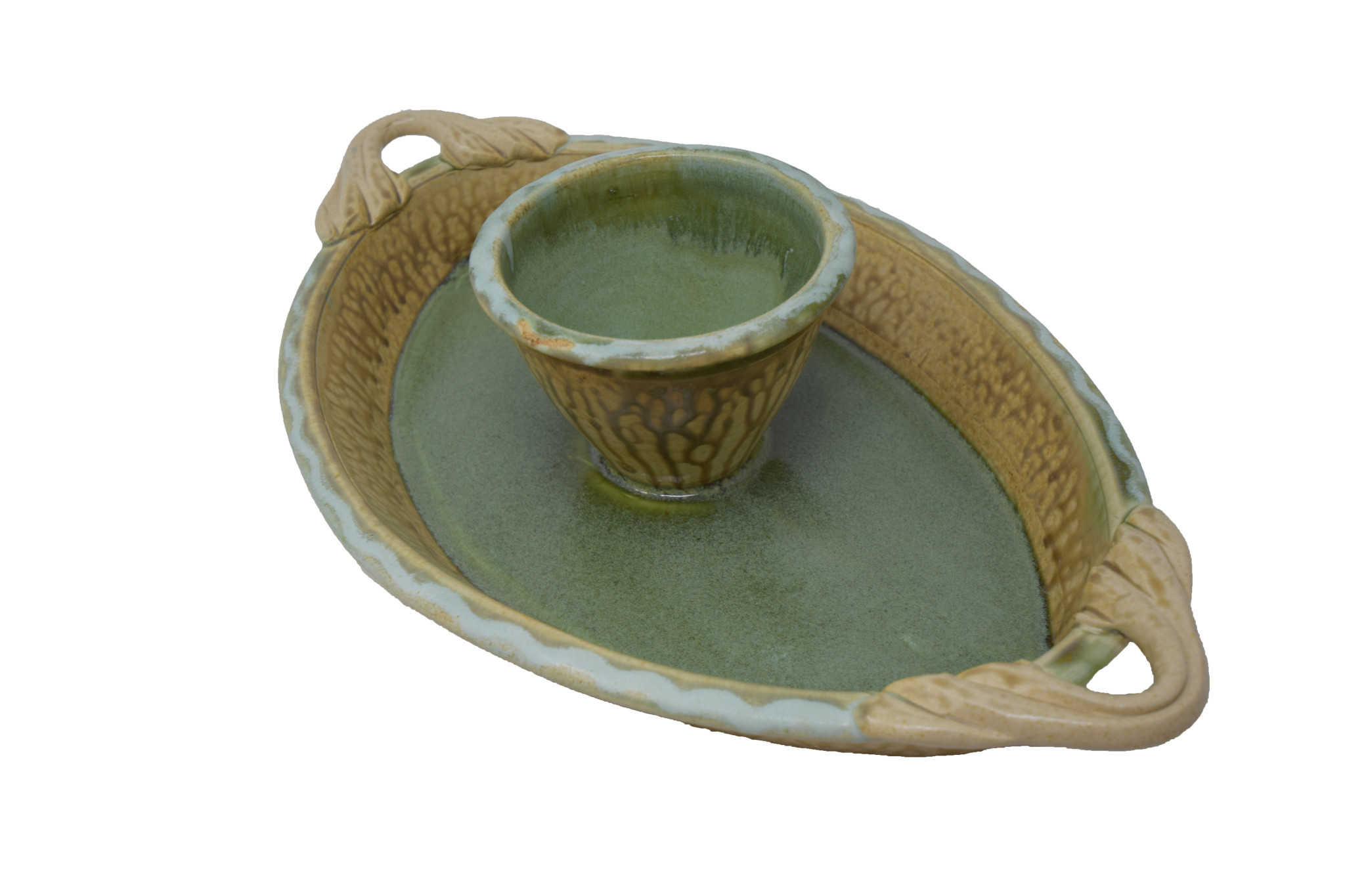 Oval Chip and Dip Dish-9