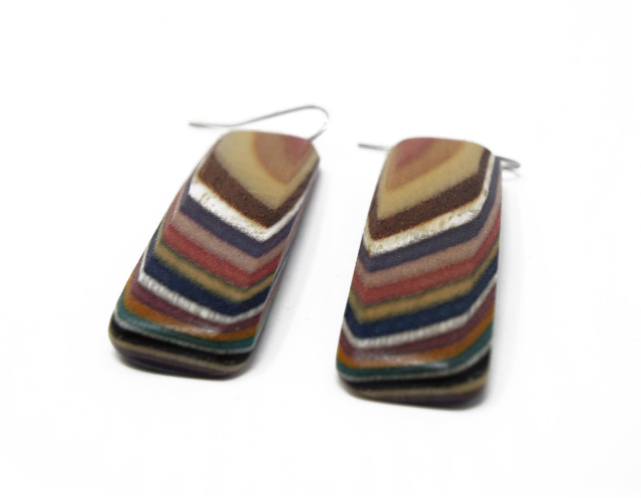 Large Rectangle Earrings-2