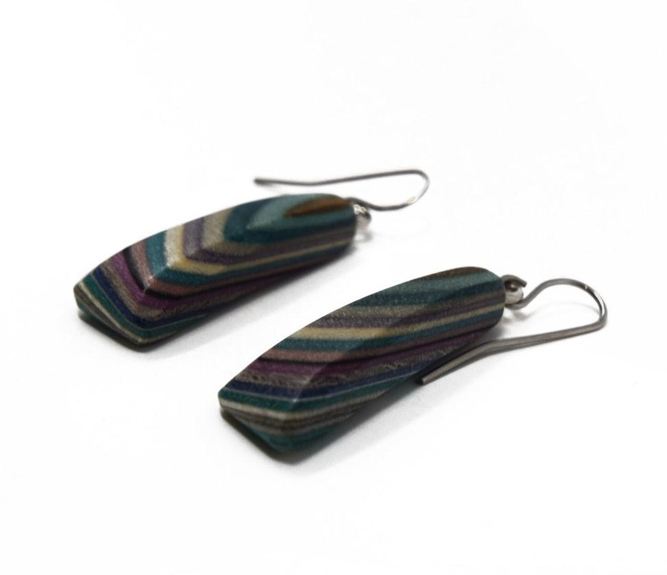 Short Triangle Earrings-2