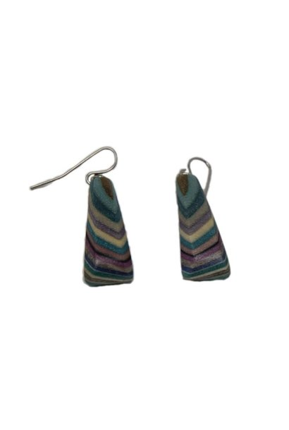 Short Triangle Earrings