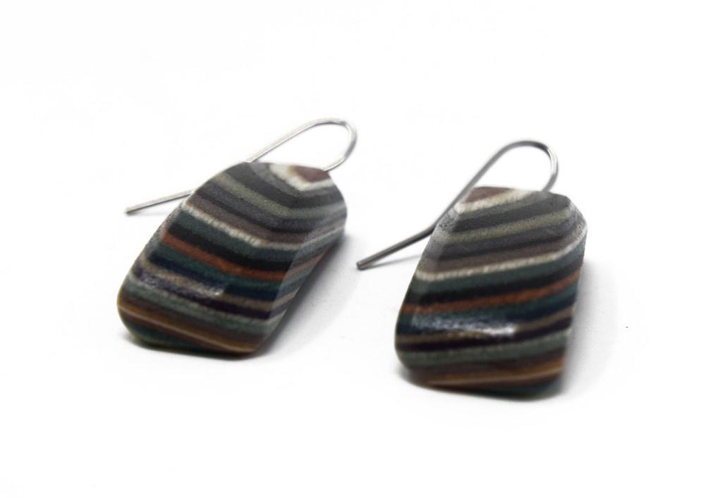 Medium Rectangle Earrings-2