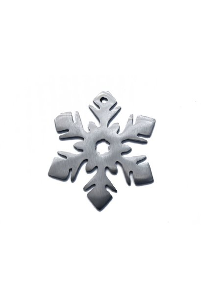 Snowflake Flower Orn