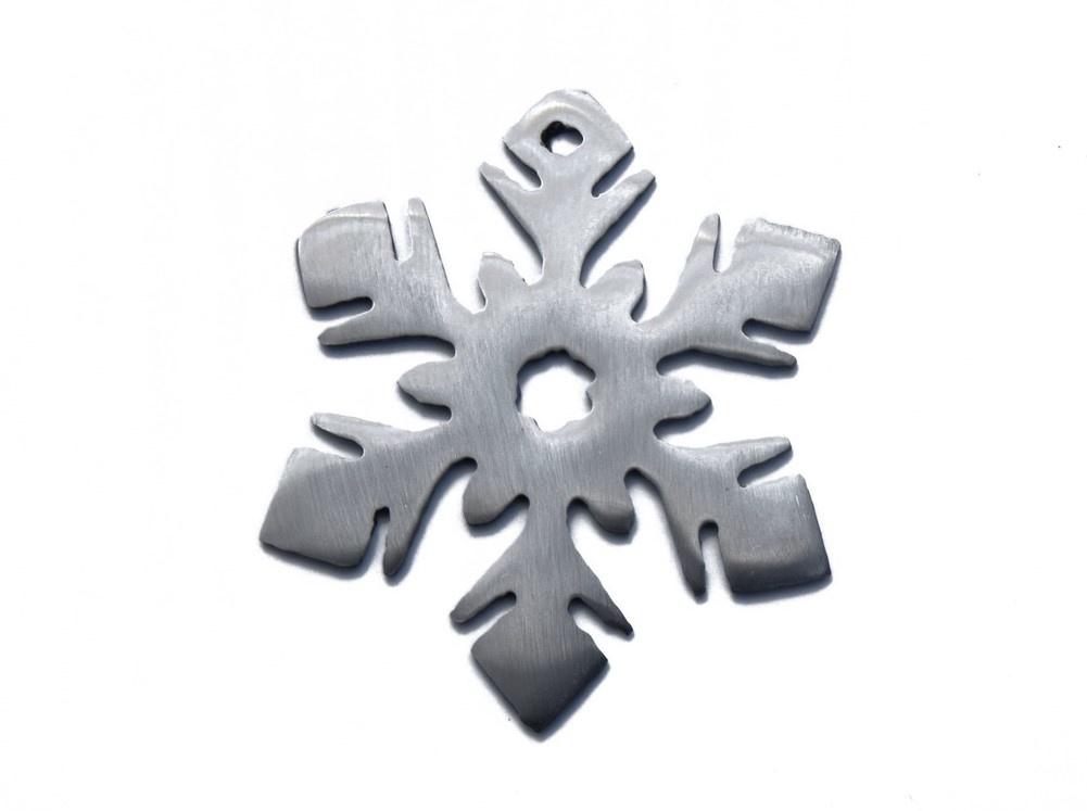 Snowflake Flower Ornament-1