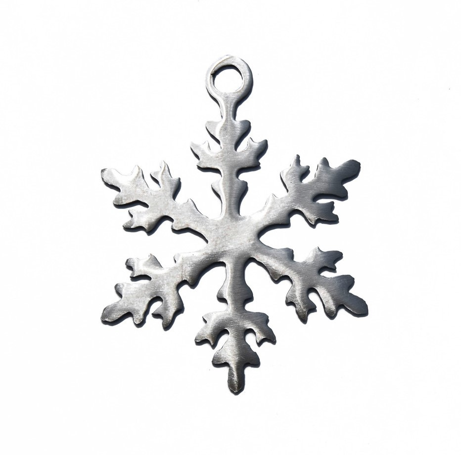 Traditional Snowflake Ornament-1