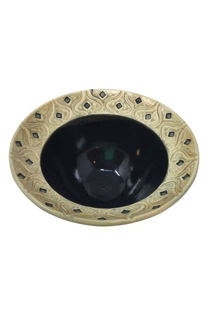 Carved Medium Bowl