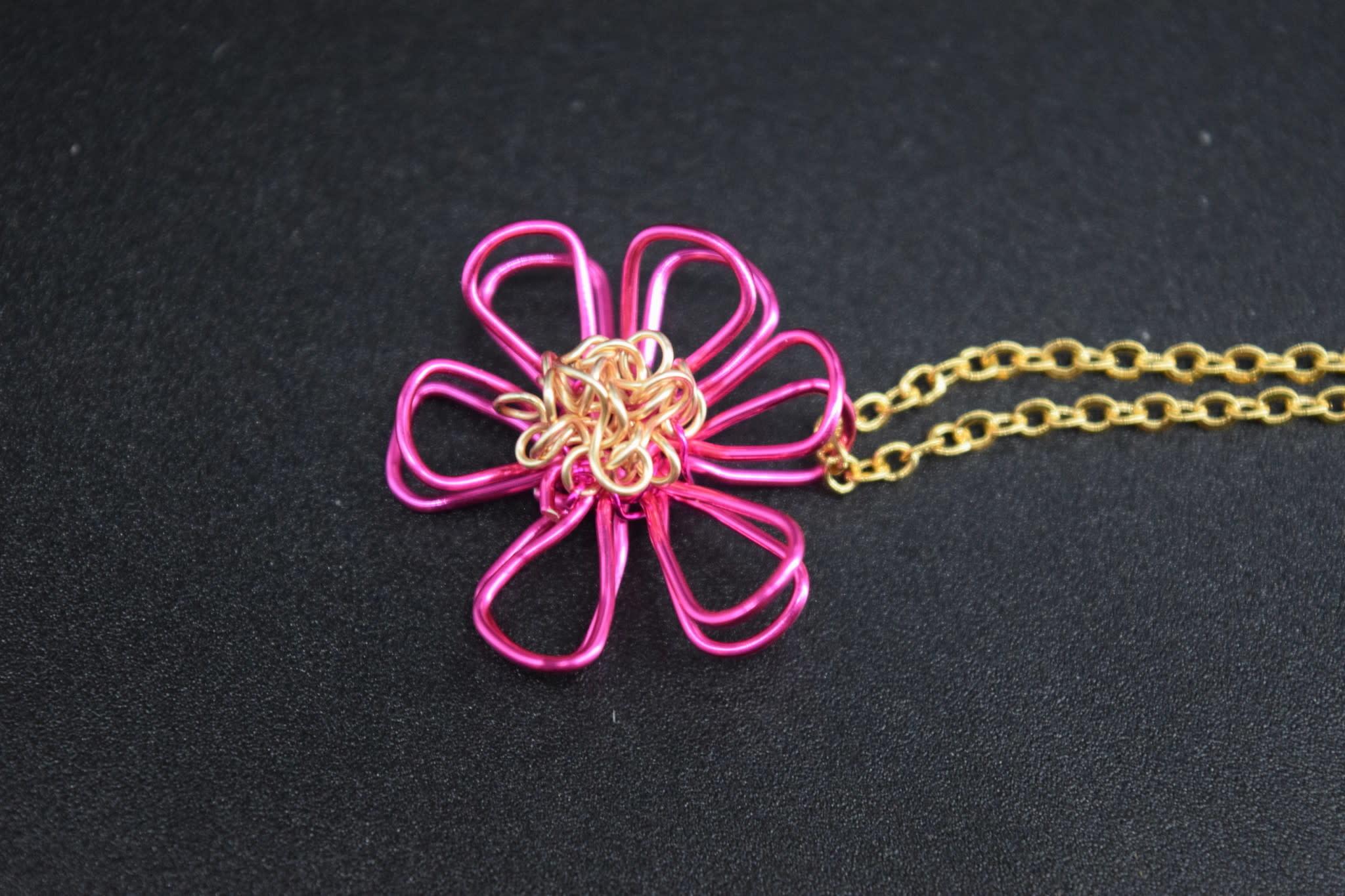 Mini Blossom Pendant-11