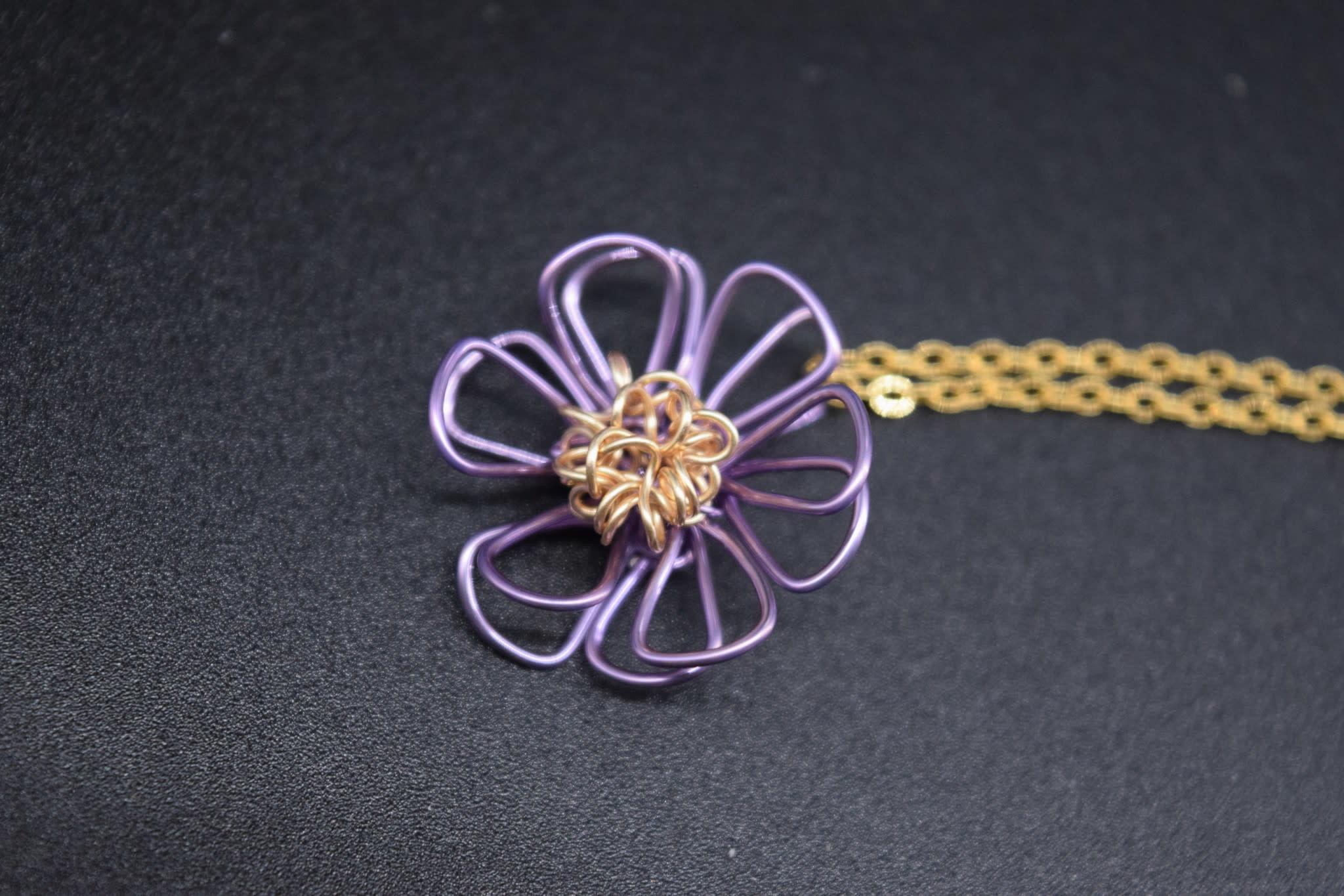 Mini Blossom Pendant-12
