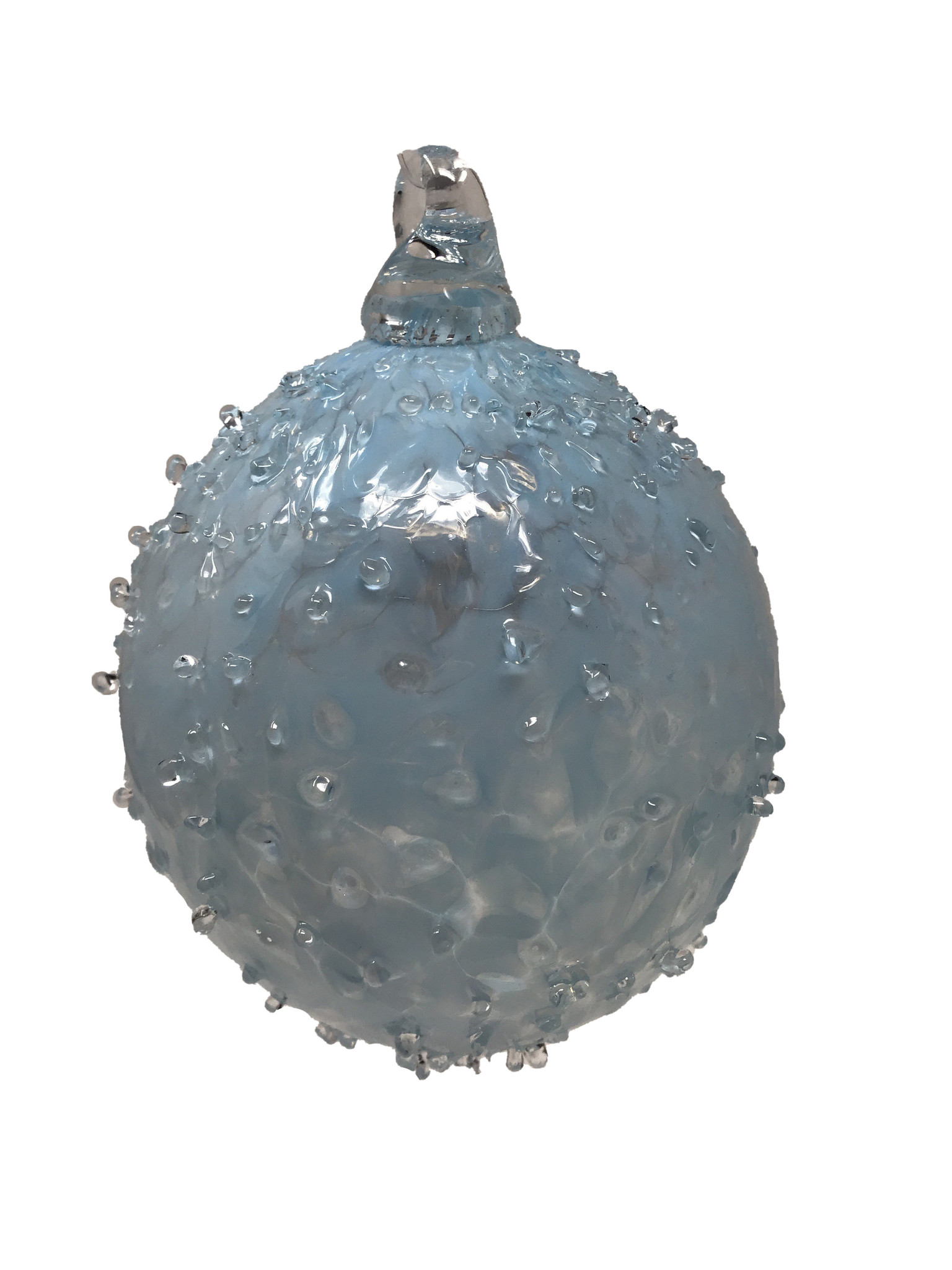 Heliotrope Dewdrops ornament-1