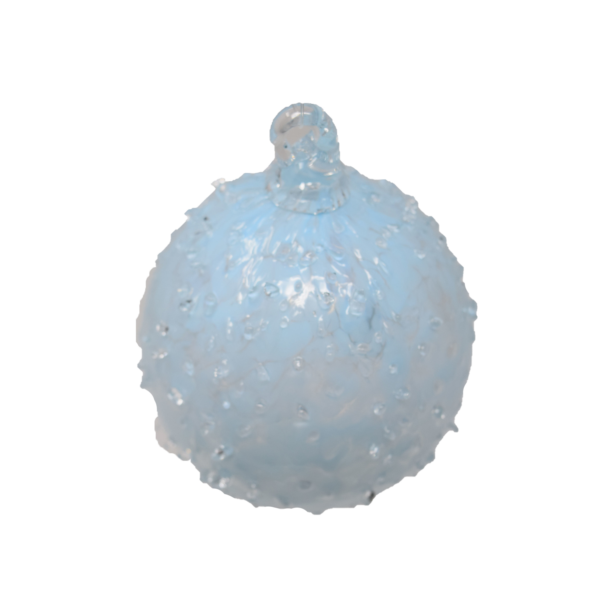Heliotrope Dewdrops ornament-3