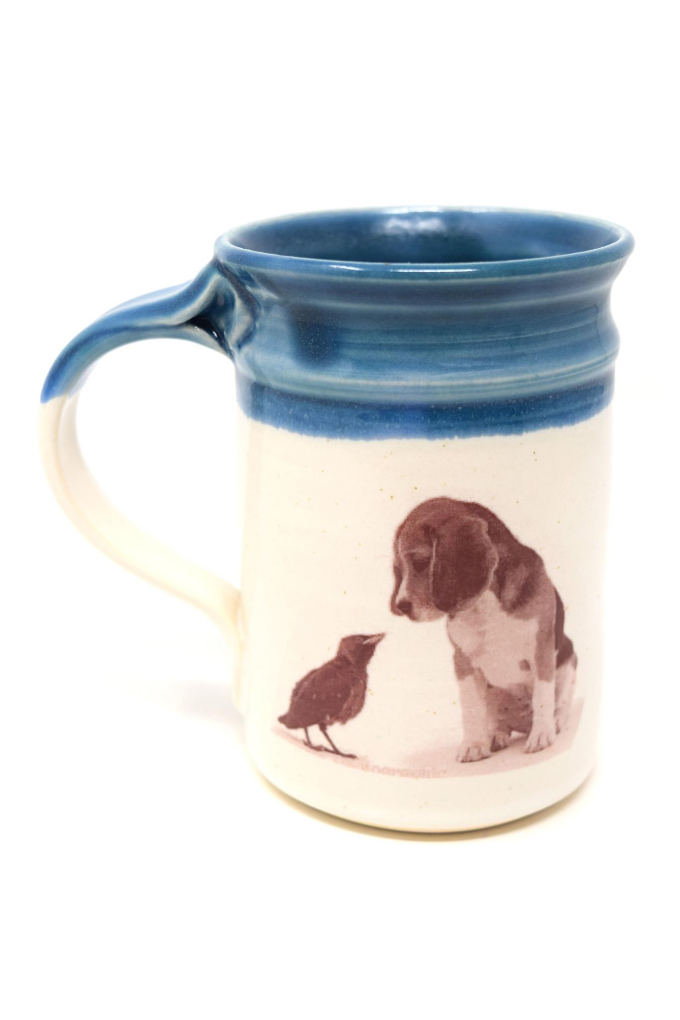 Beagle with Bird Mug-2