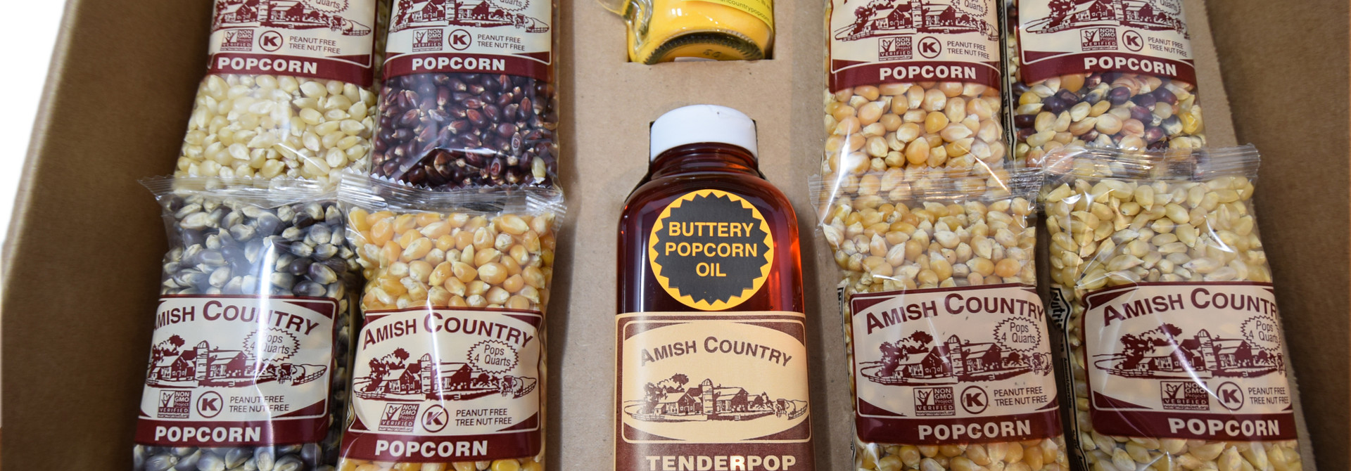 Popcorn Sampler Gift Box