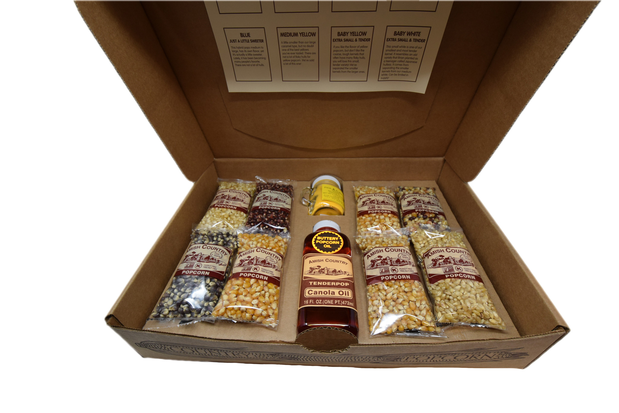 Popcorn Sampler Gift Box-2