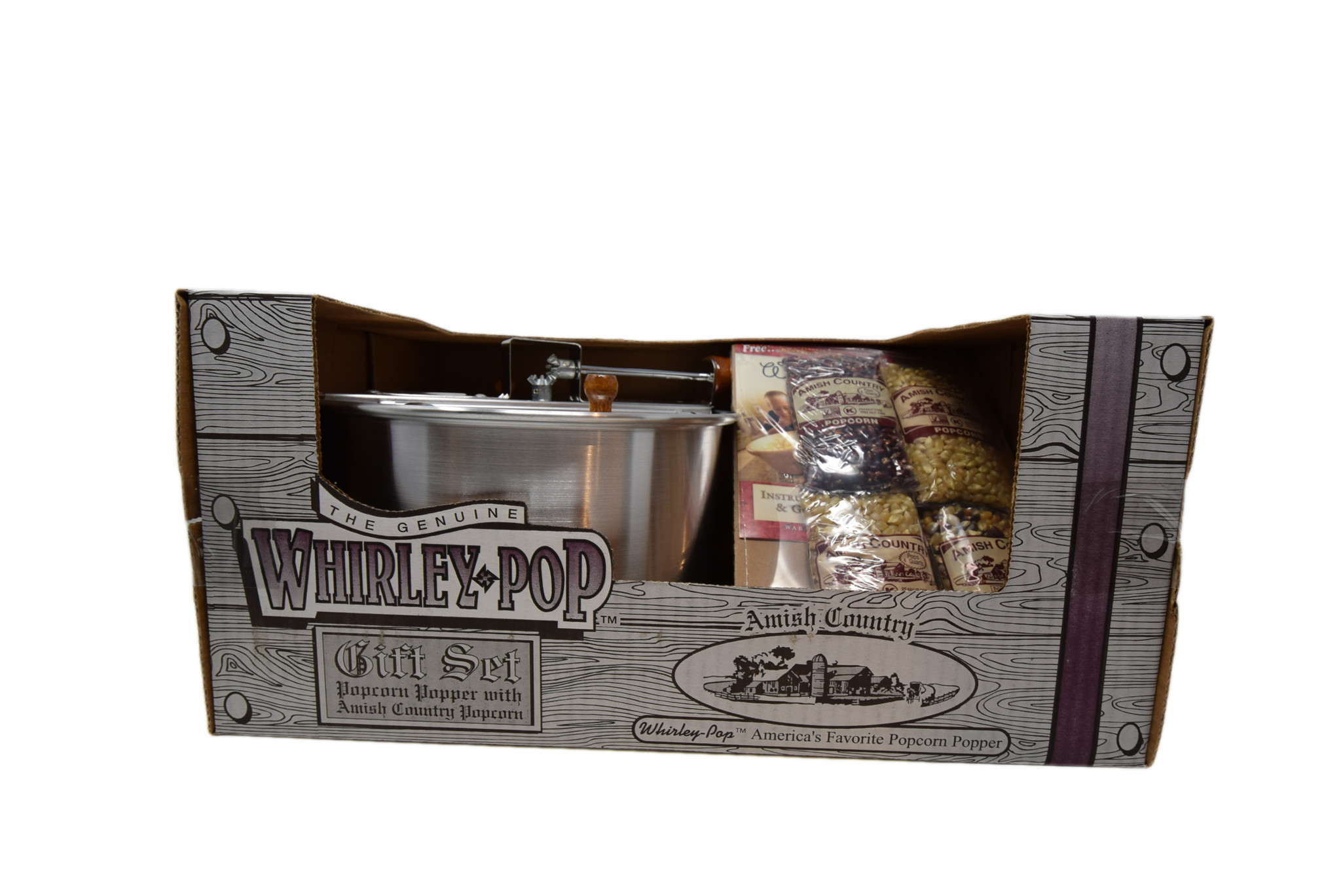 Whirly popper with 4, 4oz popcorns-2