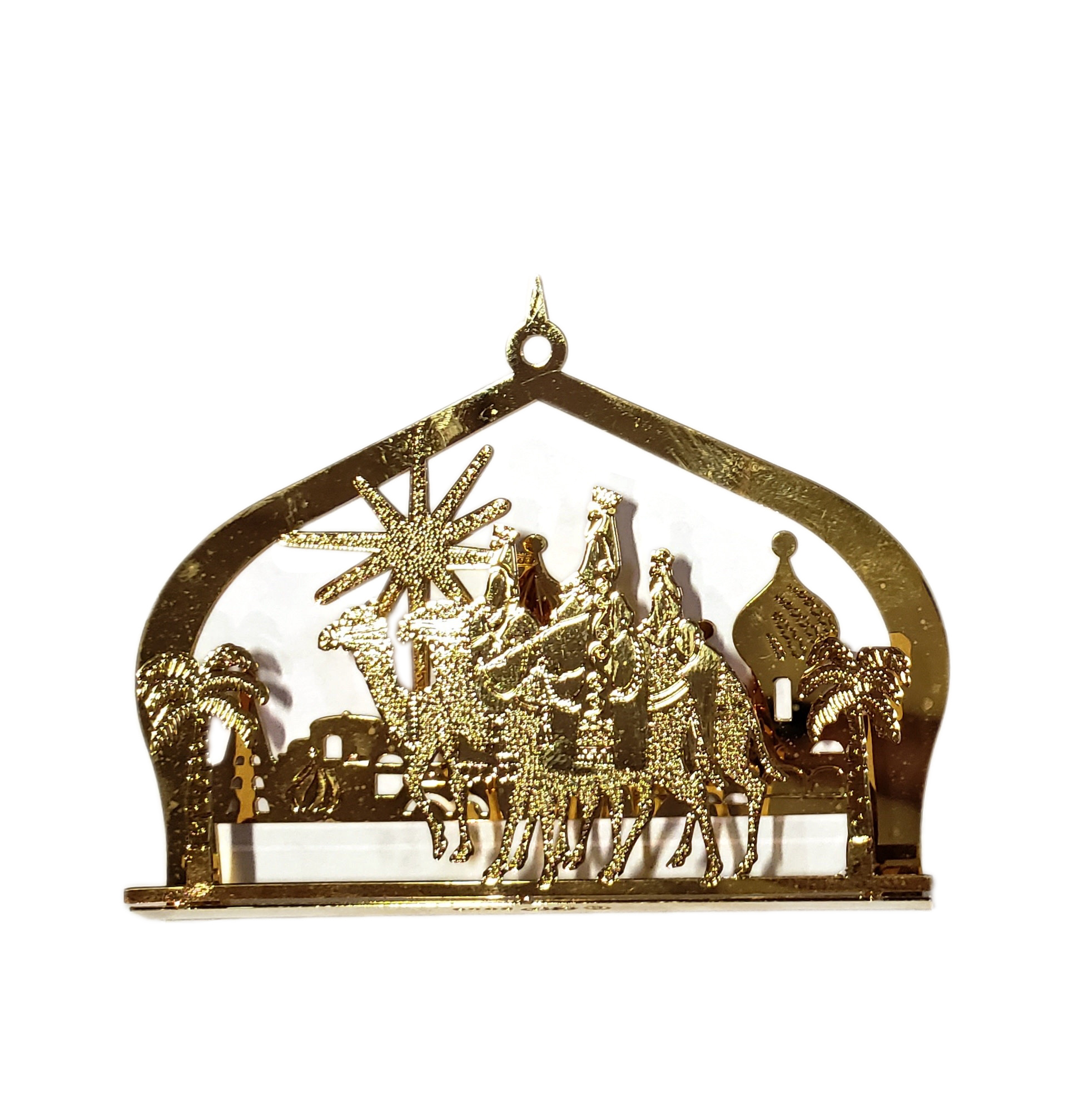 Wise Gold Ornament-1