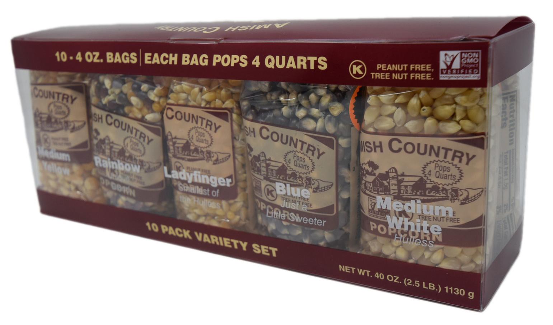 10, 4oz popcorn sampler set-2