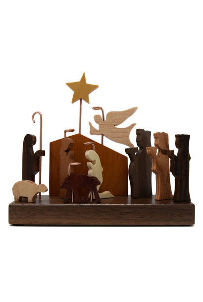 11 FIGURES MINI NATIVITY